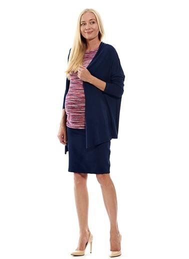 Motherway Maternity Hamile Hırkası Lacivert